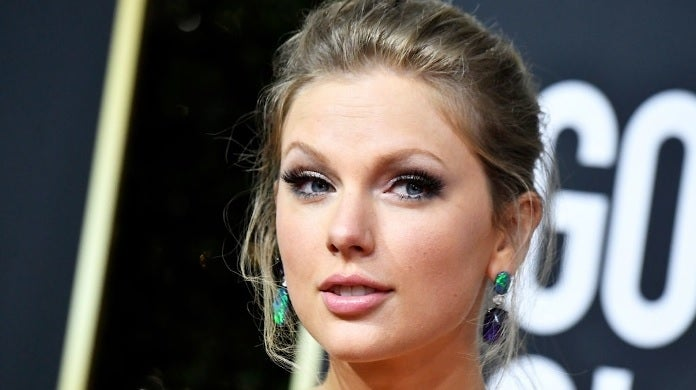 taylor swift golden globes getty images