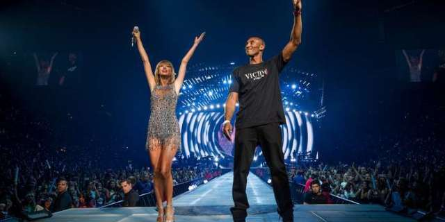 Kobe Bryant Dead: Taylor Swift's Heart Is in 'Pieces' Following 'Unimaginable Tragedy'