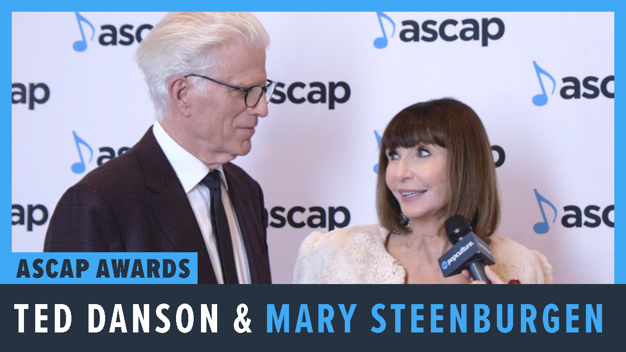 Ted Danson and Mary Steenburgen - 2019 ASCAP Awards Ceremony screen capture