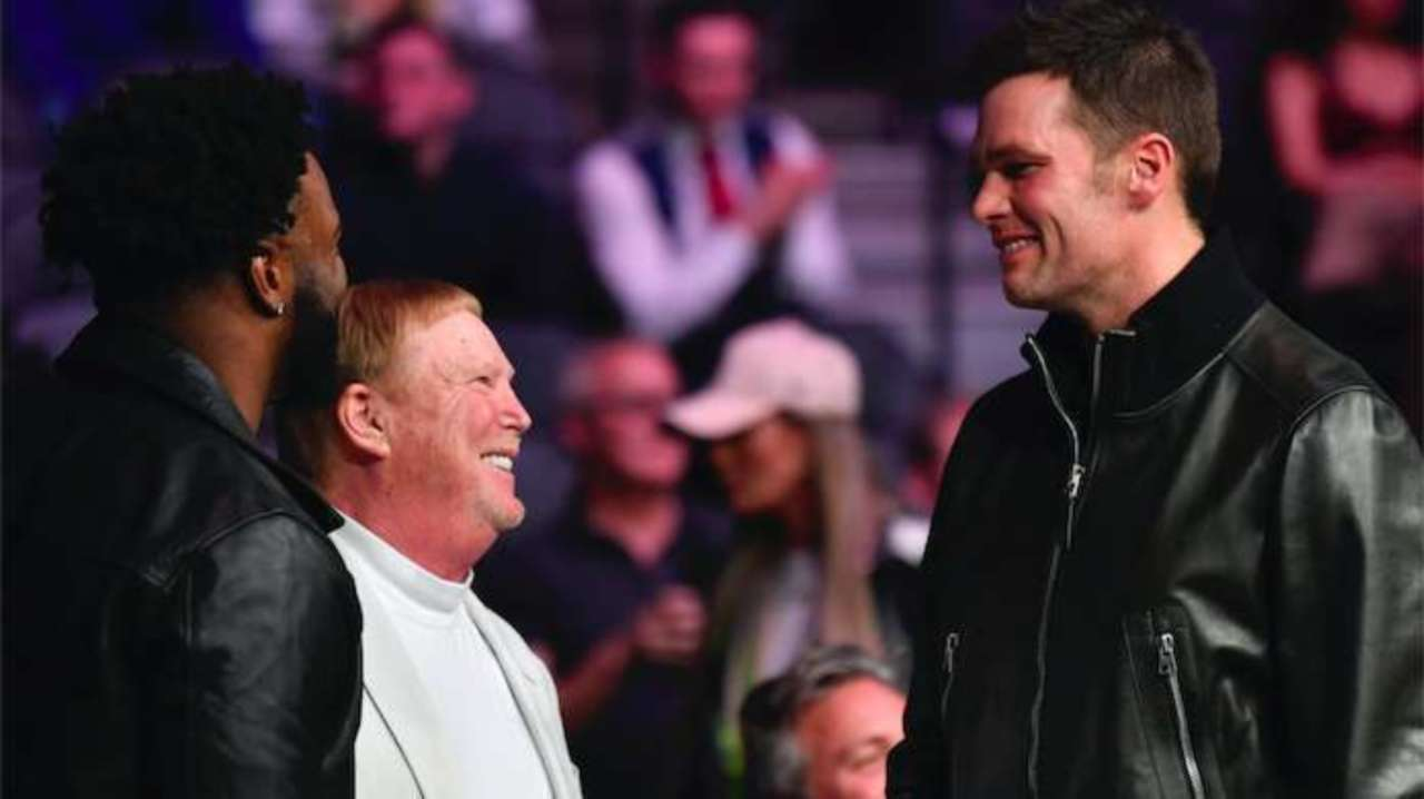 Image result for images of tom brady and Mark Davis