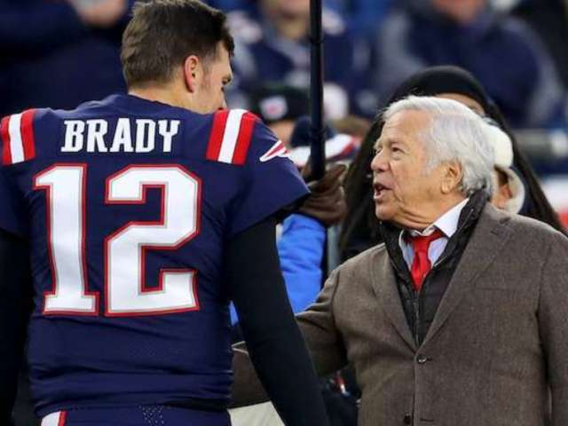 Robert Kraft Reveals Hopes for Tom Brady and Patriots in 2020