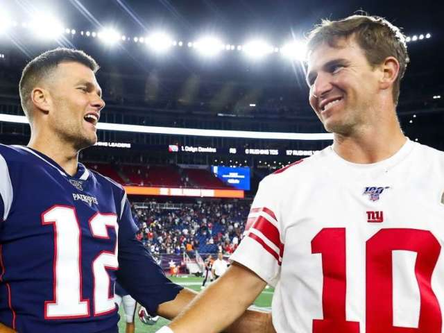 Tom Brady's Tweet to Eli Manning During New York Giants' Retirement Speech Has Patriots Fans Going Wild