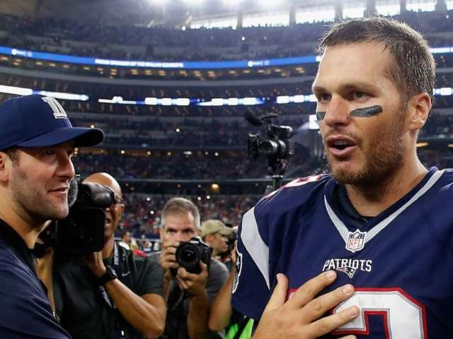Tony Romo Weighs in on Tom Brady's Likelihood of Returning Next Season