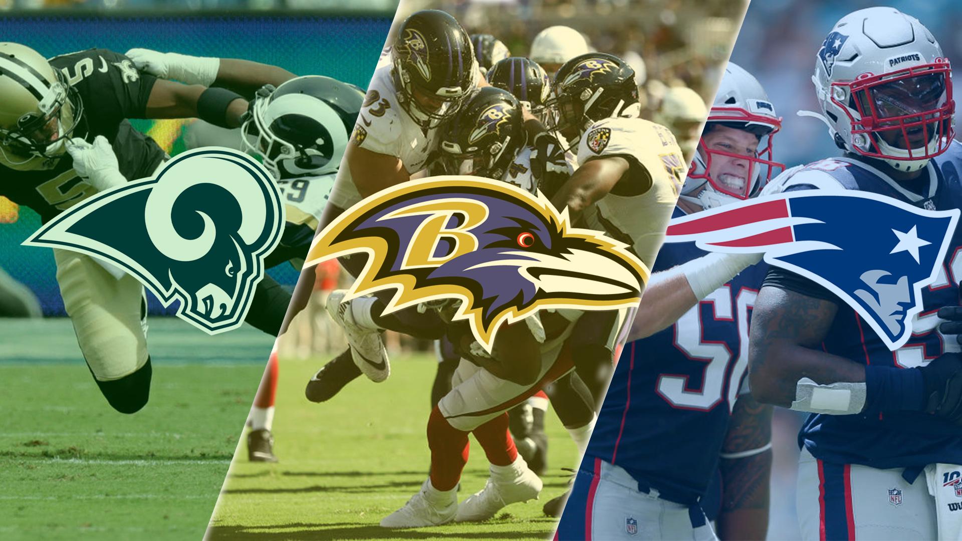 Top 5 Defenses in NFL screen capture