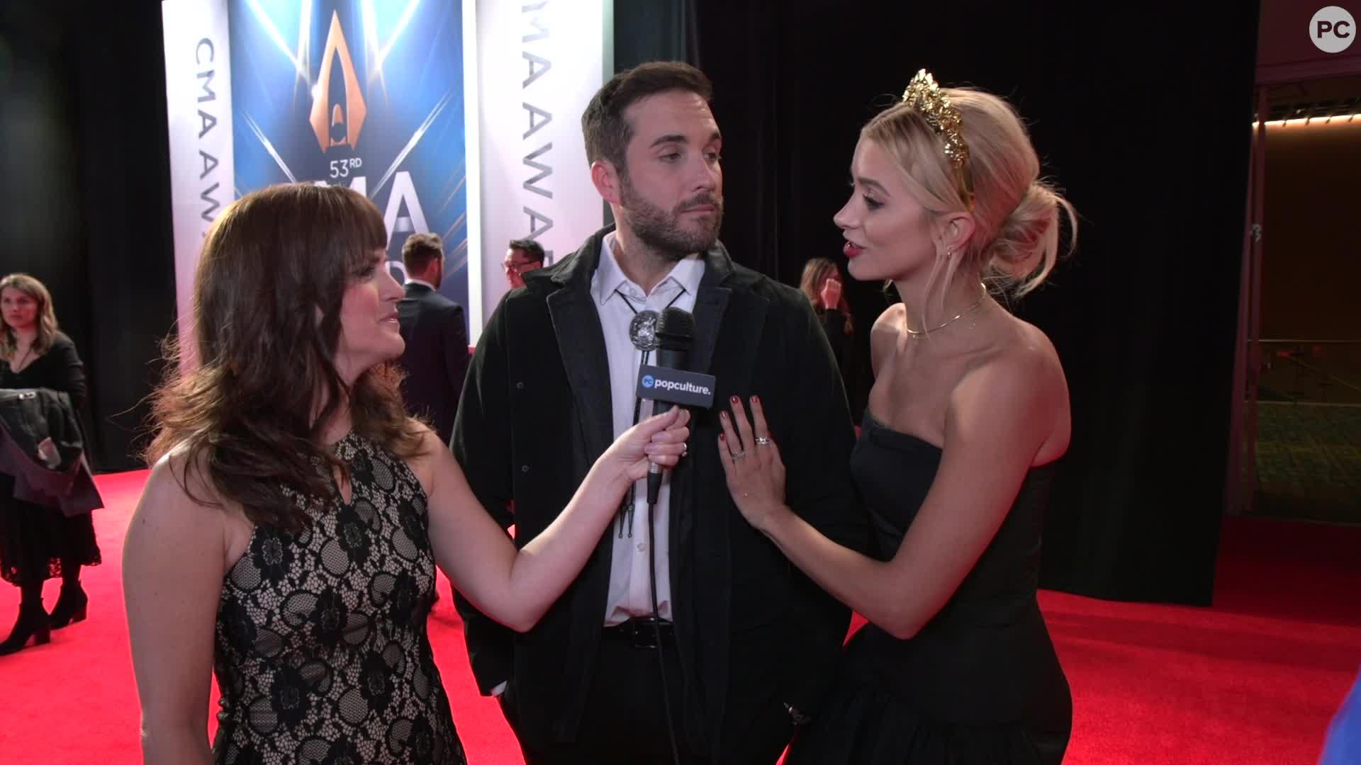 Tyler Rich - 2019 CMA Awards screen capture