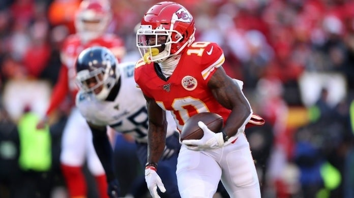 tyreek hill getty images