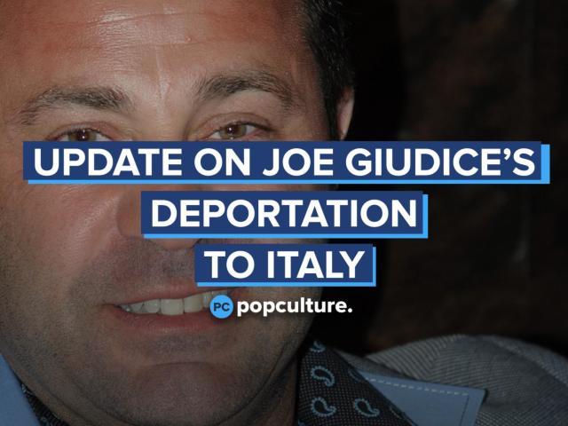 Update on Joe Giudice's Deportation to Italy