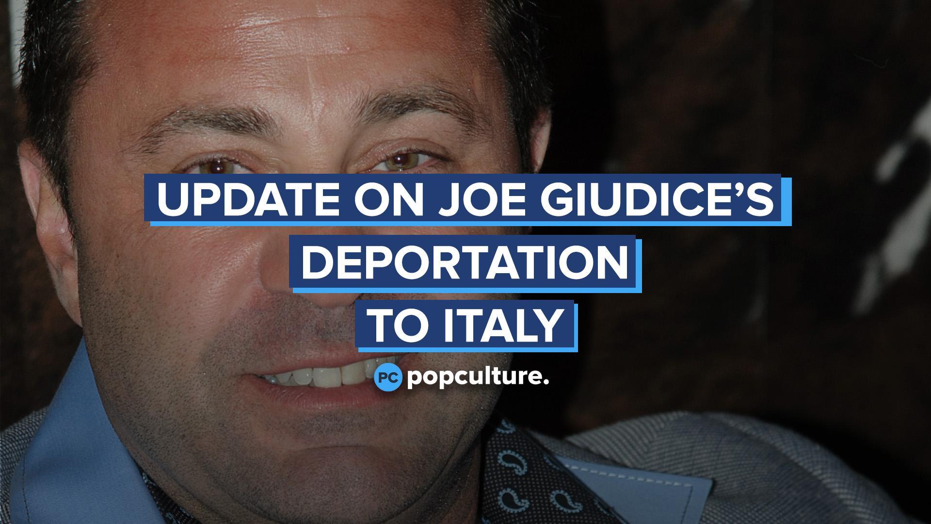 Update on Joe Giudice's Deportation to Italy screen capture