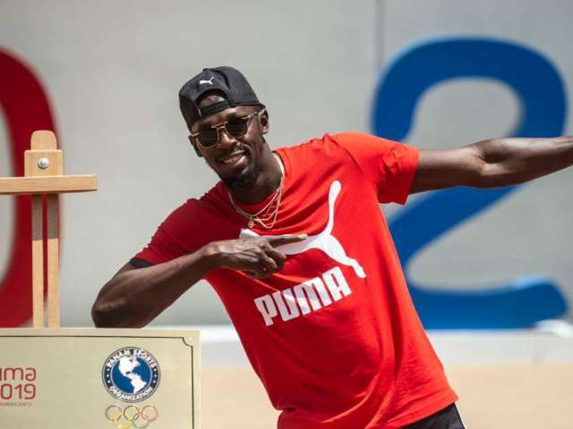 Usain Bolt Announces Girlfriend Kasi Bennett Is Pregnant With Couple's First Child
