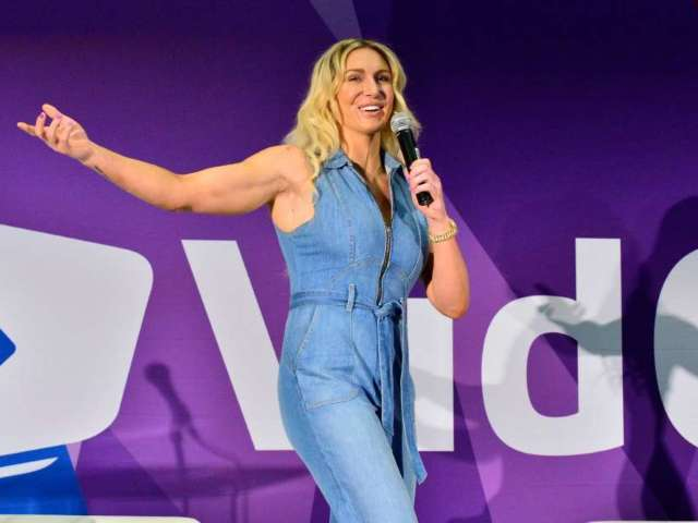 WWE's Charlotte Flair and Andrade Reveal 'Crazy' Couple Workout Video
