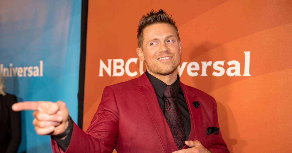 WWE The Miz poses infant daughter Madison photo