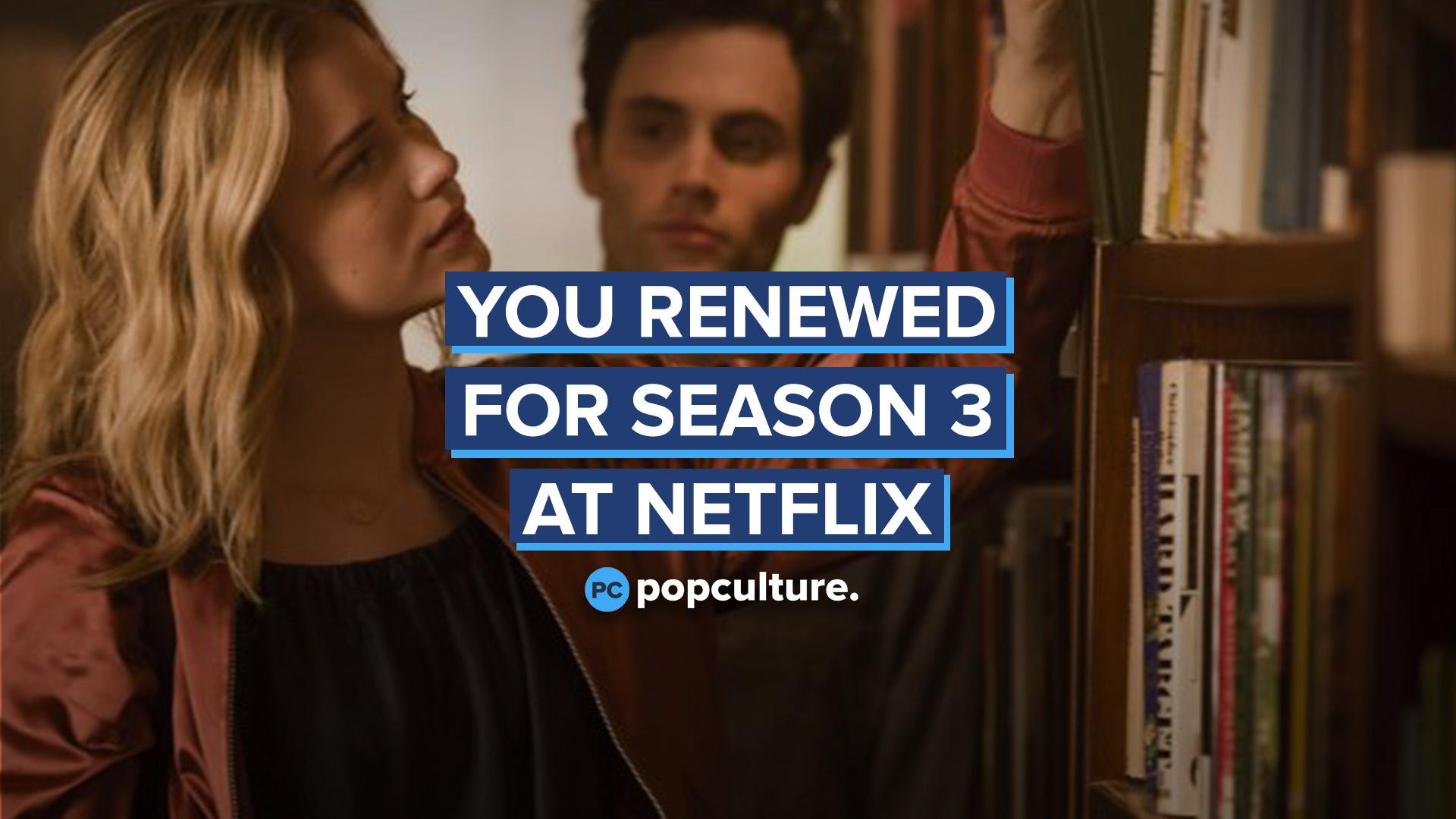 YOU Renewed for Season 3 at Netflix screen capture