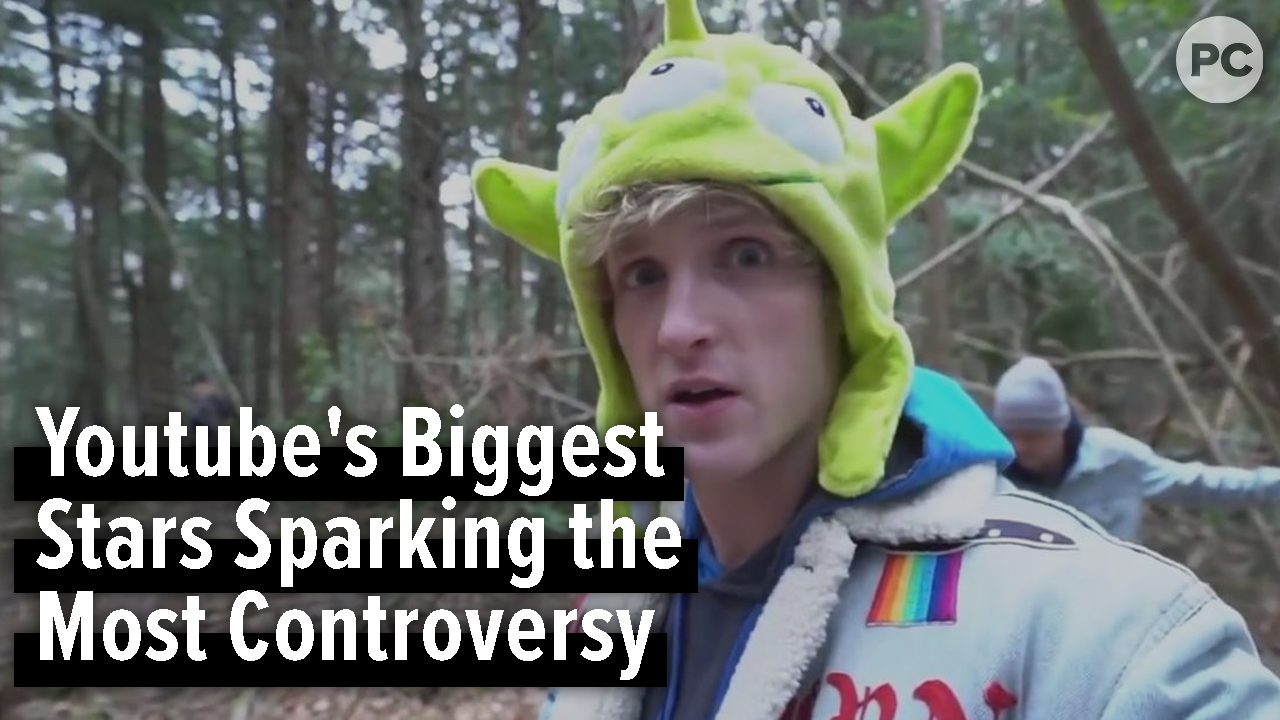 Youtube's Biggest Stars Sparking the Most Controversy screen capture