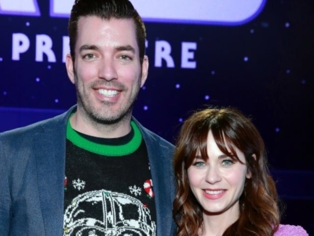 Zooey Deschanel and 'Property Brothers' Star Jonathan Scott Celebrate Her Birthday With '80s Flashback Party