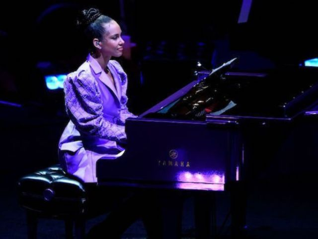 Kobe Bryant Celebration of Life: Alicia Keys Performs Beethoven's Moonlight Sonata