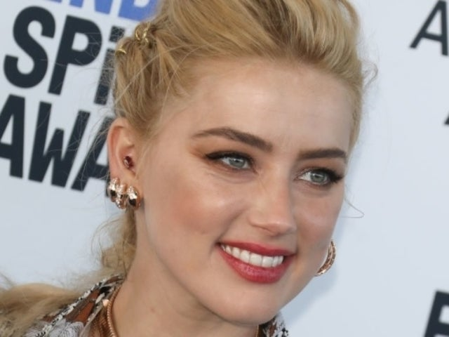 Amber Heard Reveals 'Quick Sparkle Moment' Photo Amid Johnny Depp Controversy