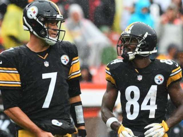 Antonio Brown Apologizes to Former Teammate Ben Roethlisberger: 'I Appreciate You'