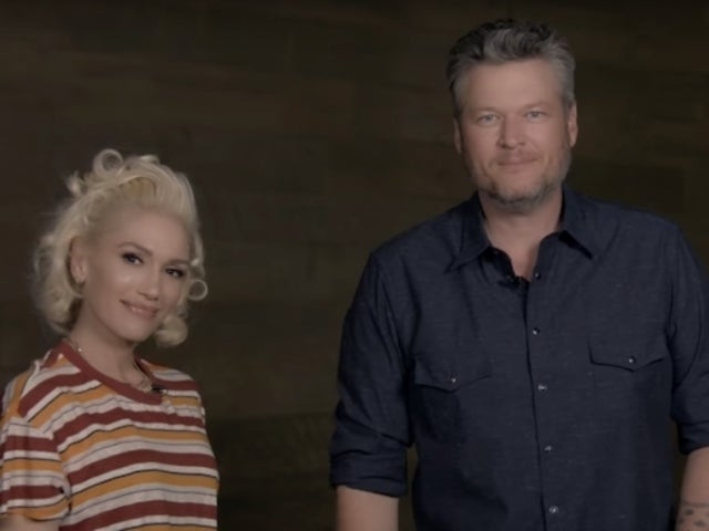Watch: Blake Shelton and Gwen Stefani Cut up Behind the Scenes of 'Nobody But You' Duet Music Video