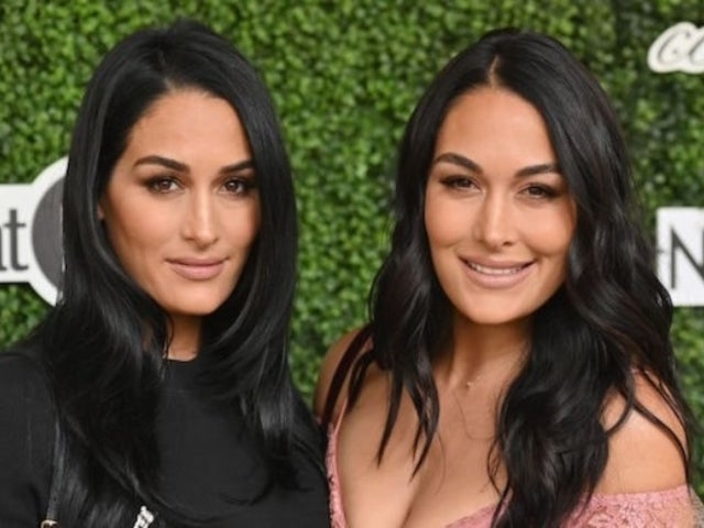 Nikki Bella and Brie Bella Show off Growing Baby Bumps in Bikini Photos
