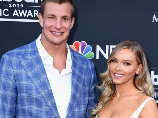 Ron Gronkowski's Girlfriend Camille Kostek Returning for Sports Illustrated's Swimsuit Issue, Reveals Video