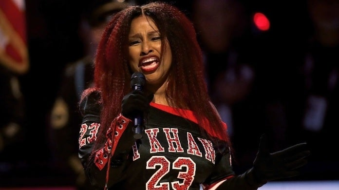 chaka khan all star game getty images