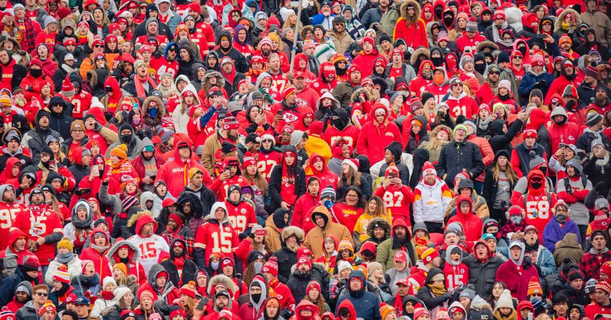 Chiefs fans attendance Super Bowl parade social media attacks