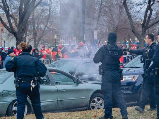 Kansas Man Charged in Car Chase During Chiefs Super Bowl Victory Parade