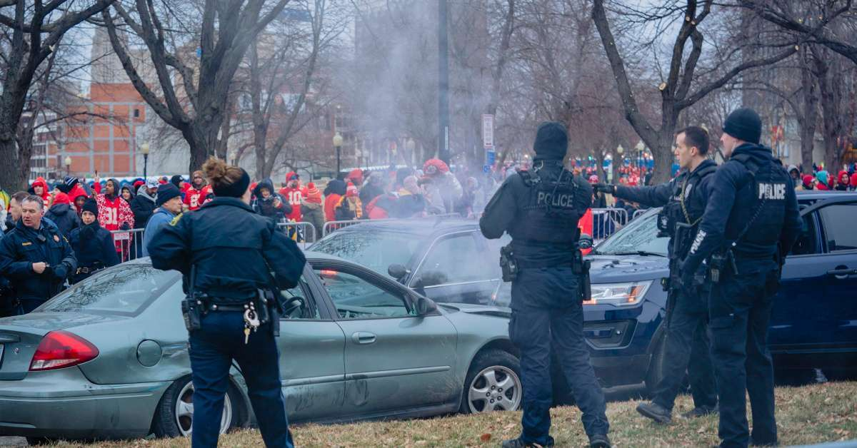 Chiefs Super Bowl parade man charged car chase