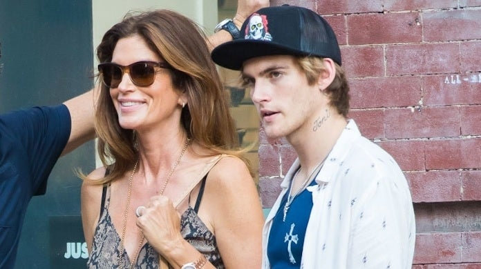 cindy crawford presley gerber getty images
