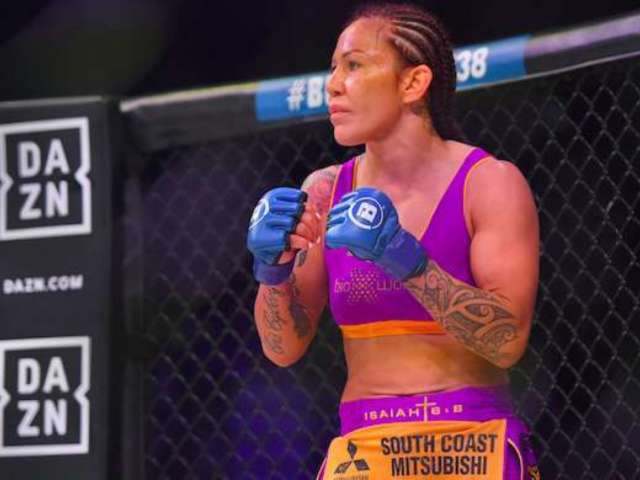 Auto Club 400: MMA Fighter Cris Cyborg Attends Highly-Anticipated NASCAR Race