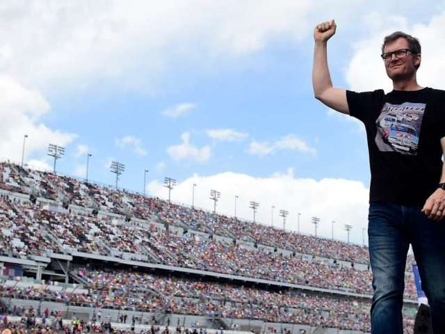 Dale Earnhardt Jr. Defends Denny Hamlin's Win Following Ryan Newman's Crash at Daytona 500