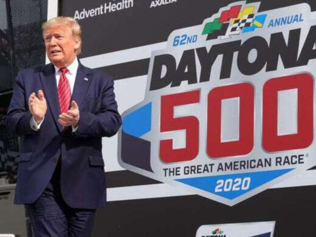 Daytona 500: Some Fans Blaming Donald Trump for Ryan Newman Crash