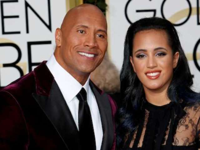 Dwayne 'The Rock' Johnson's Daughter Simone Is Following in His Footsteps, Training in WWE