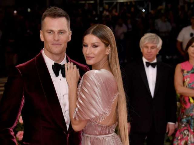 Gisele Bundchen Shares Photo and Her and Tom Brady Eating Cake and Fans Are Concerned