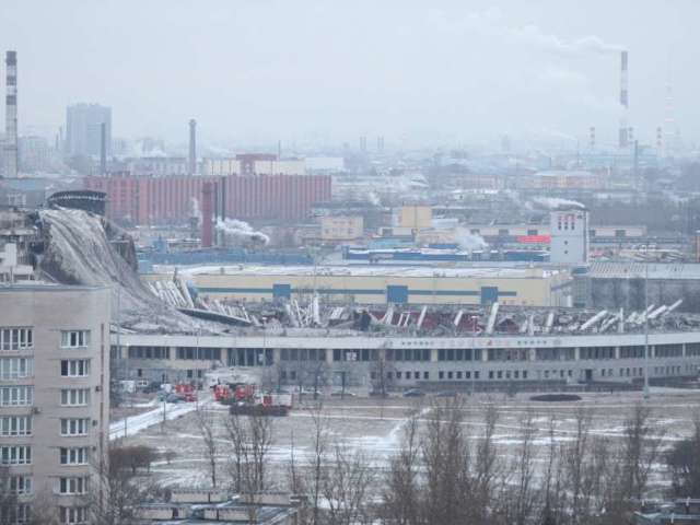 Ice Hockey Stadium Collapse Kills 1, Injures Others With 'People Trapped in Debris'