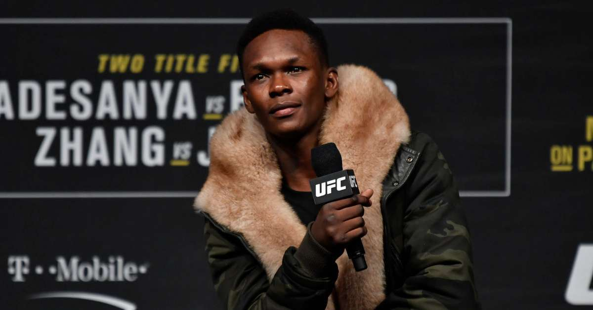 Israel Adesanya apologizes twin towers 9-11 comment