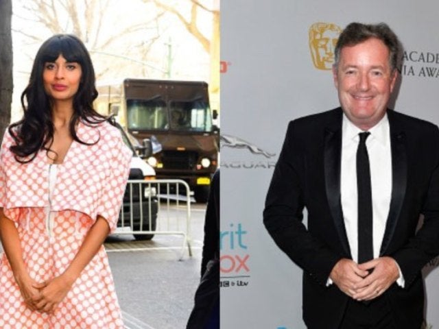 Jameela Jamil Slams Piers Morgan Using Caroline Flack Messages to Attack Her After Suicide