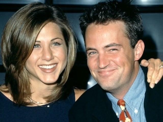 'Friends': Jennifer Aniston Welcomes Matthew Perry to Instagram With Fan-Favorite Throwback