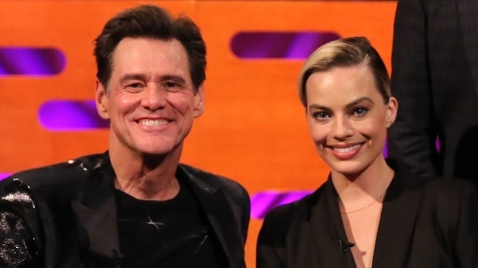 jim carrey margot robbie getty images
