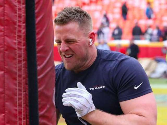 J.J. Watt Jokes About Wedding Hangover as Wife Kealia Ohai 'Casually' Blows Him Away With Workout