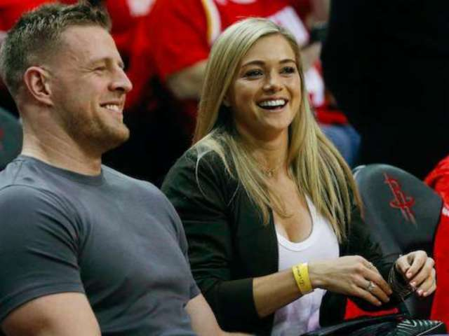 J.J. Watt and Fiancee Kealia Ohai Reportedly Getting Married on Saturday