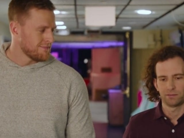 'SNL': J.J. Watt Thinks Fast With Kyle Mooney in Hilarious Shoe-to-the-Face Promo
