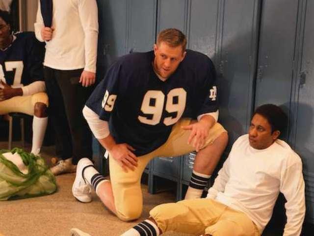 'SNL' Parodies 'Rudy' With J.J. Watt in 'Robbie'