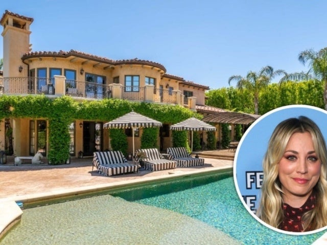 Tour 'Big Bang Theory' Star Kaley Cuoco's $4.8M Sumptuous Tarzana Mansion