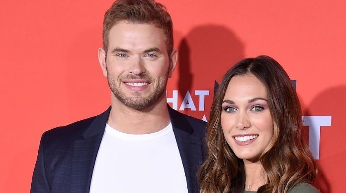 kellan lutz brittany getty images