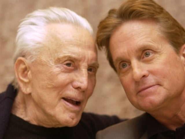 Michael Douglas Arrives at Father Kirk's Home in New Photos for the First Time Since Death