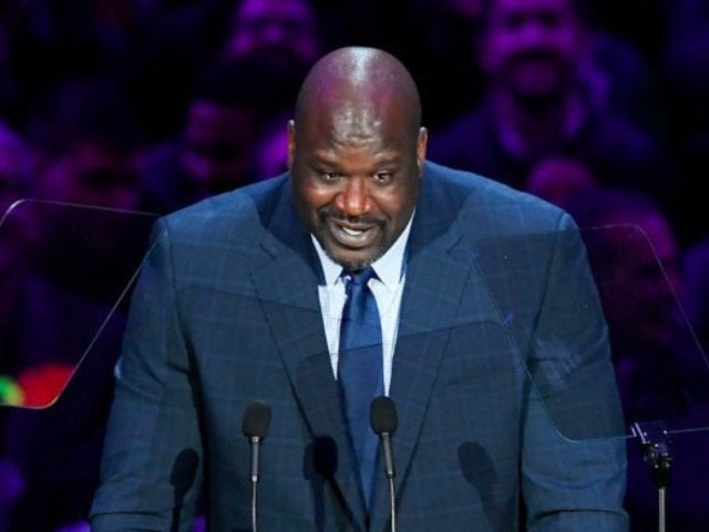 Kobe Bryant Celebration of Life Viewers Frustrated About Technical Difficulties During Shaquille O'Neal's Speech