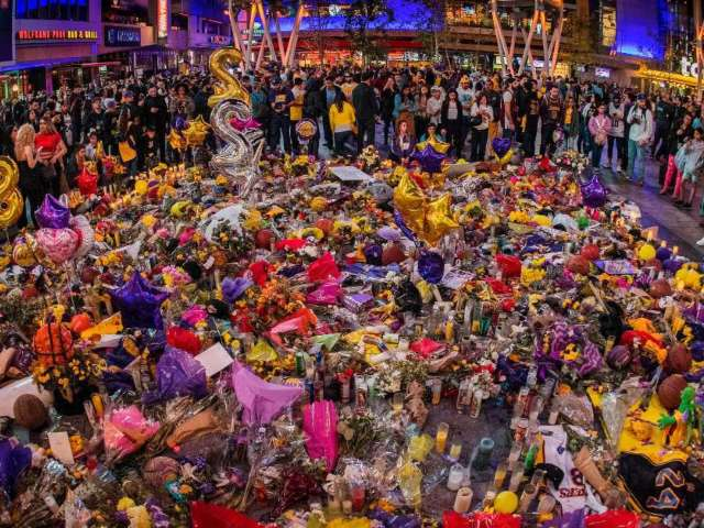 Kobe Bryant's Lakers Fans Are Paying Their Respects at Wrong Gravesite