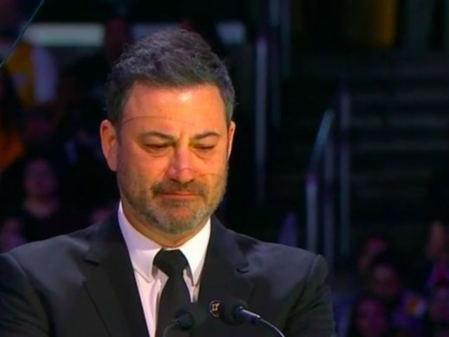 Kobe Bryant: Jimmy Kimmel Breaks Down in Tears During Celebration of Life Speech