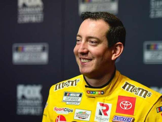 Kyle Busch Shares Kiss With Wife in Valentine's Day Photo Ahead of Daytona 500